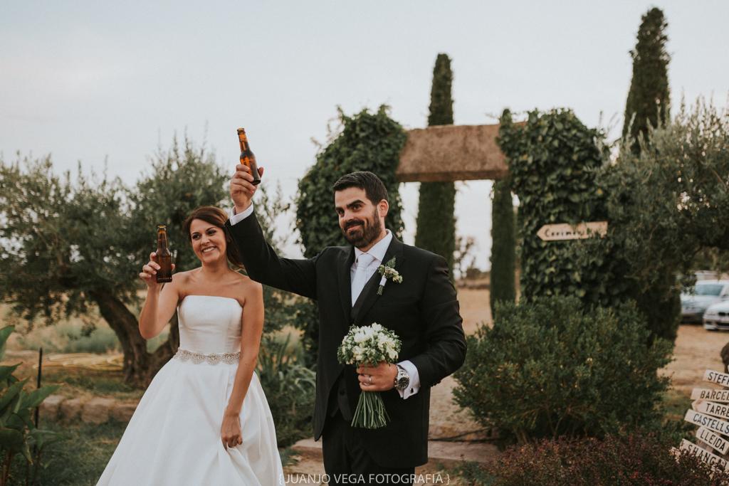 Casament rústic a les terres de Lleida