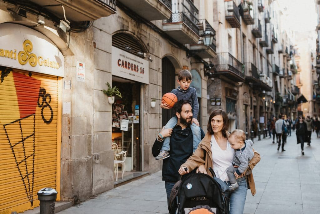 Barcelona family photoshoot