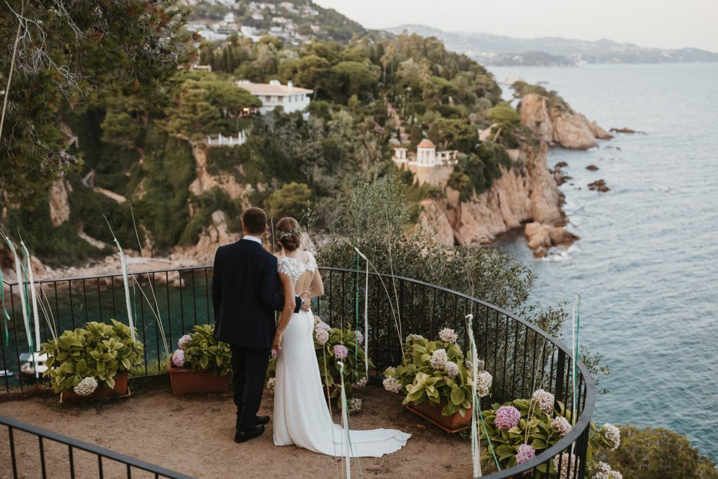 Wedding at Convent de Blanes. Barcelona wedding photographer. Wedding photography Barcelona, Sitges and Costa Brava