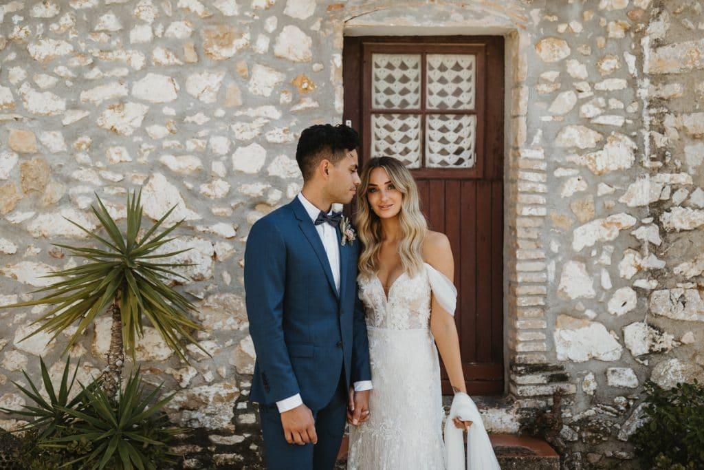 boda en casa félix. boda elegante e informal de estilo mediterráneo