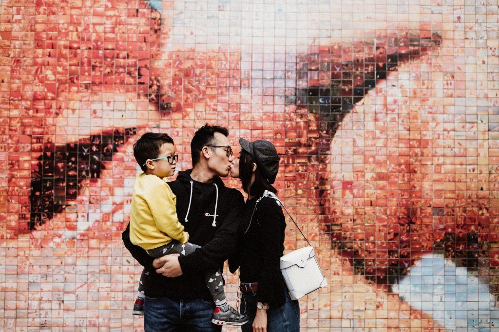 Reportatge de fotos en familia en Barcelona
