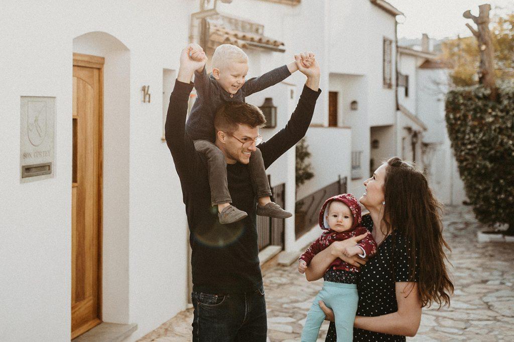 Costa brava family photoshoot