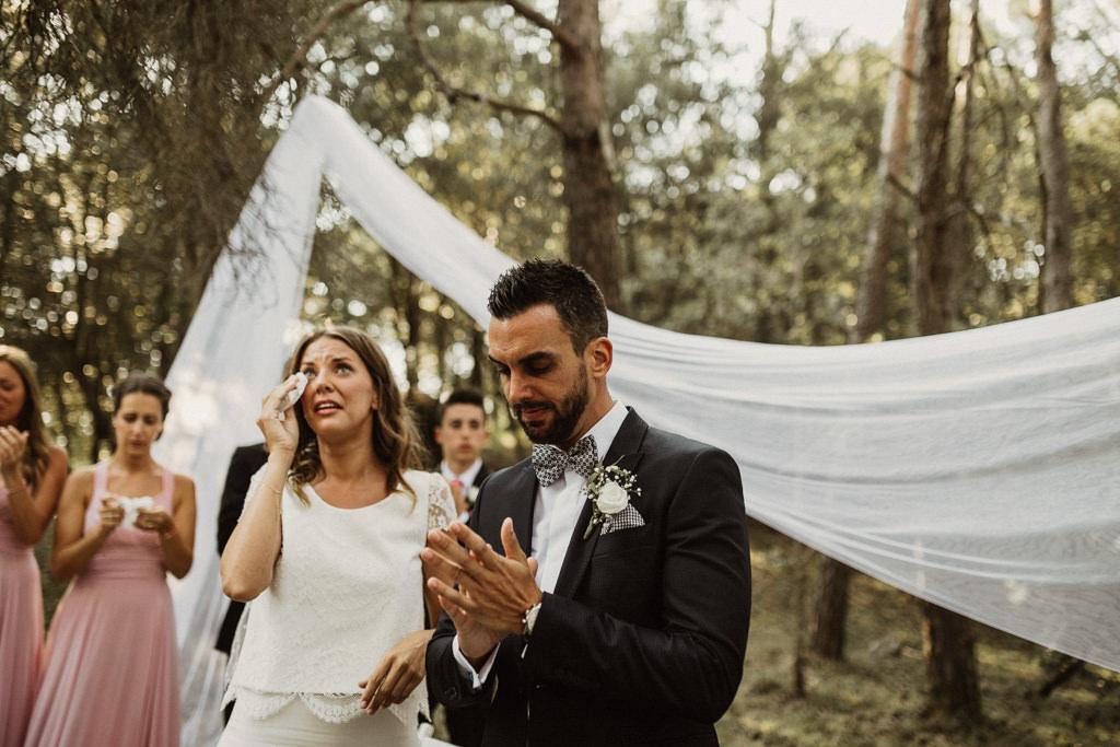 Casament al bosc a la masia El Munt de Barcelona | Juanjo Vega, fotògraf casaments al bosc barcelona