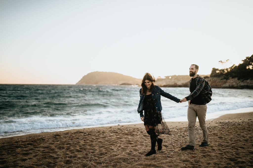 - ENGAGEMENT PHOTOSHOOT AT THE COSTA BRAVA -