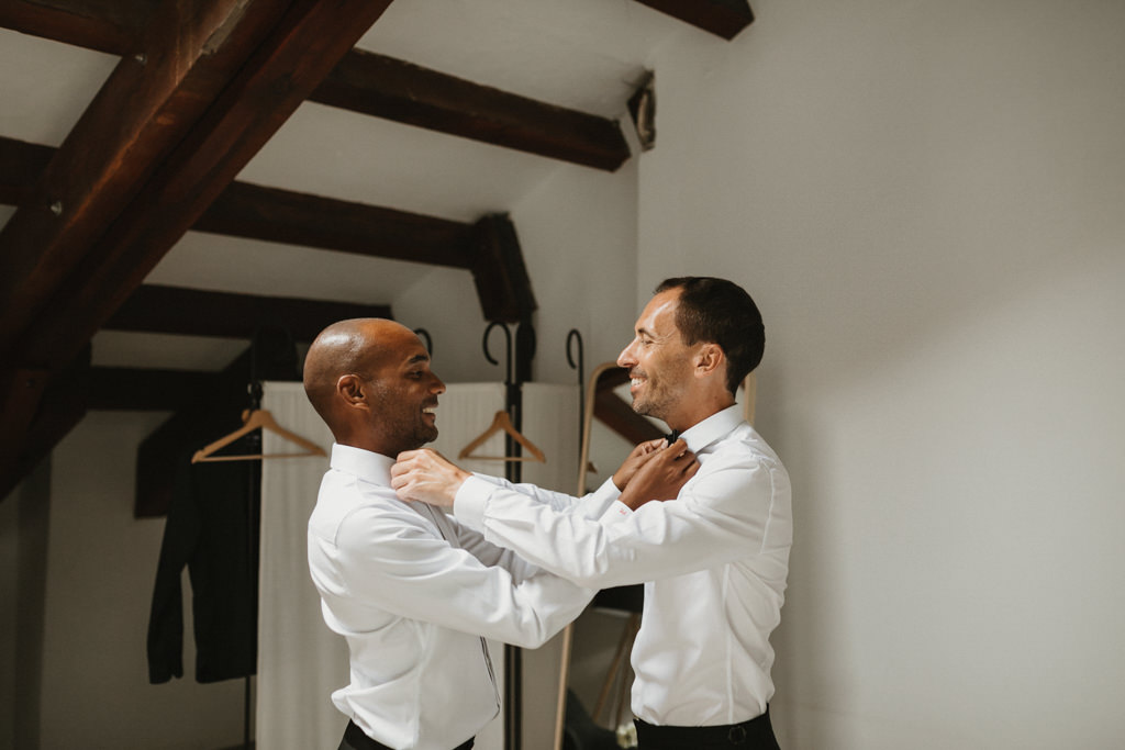 Wedding suits for a gay Wedding Album in Barcelona · Elegant Gay Wedding at Ca l'Iborra, | Elegant gay wedding photography | Juanjo Vega, Gay Wedding Photographer in Barcelona
