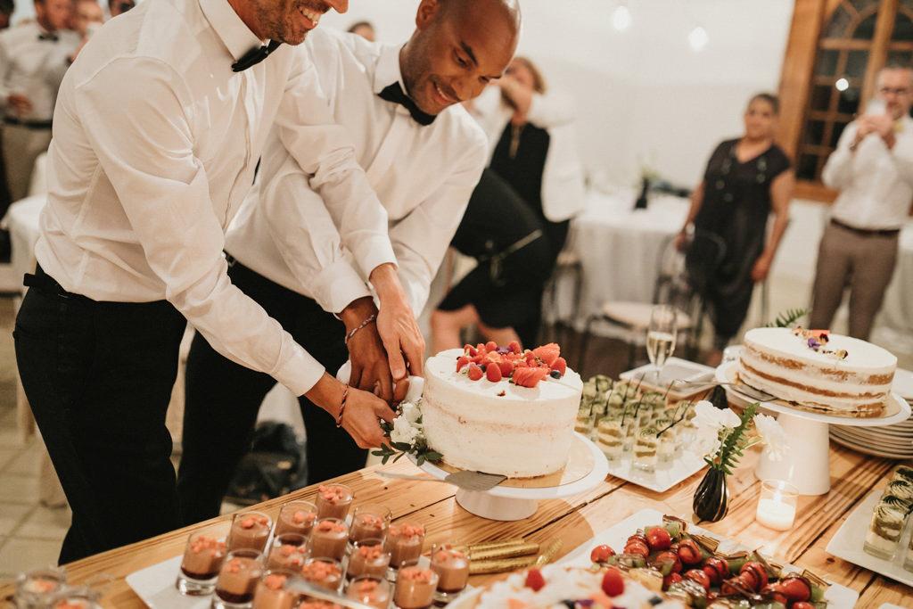 Moncho's Catering a un casament gai a Barcelona · Noces gai elegant a Ca l'Iborra, | Fotografia de casament gai elegant | Juanjo Vega, Fotògraf de casaments gais a Barcelona
