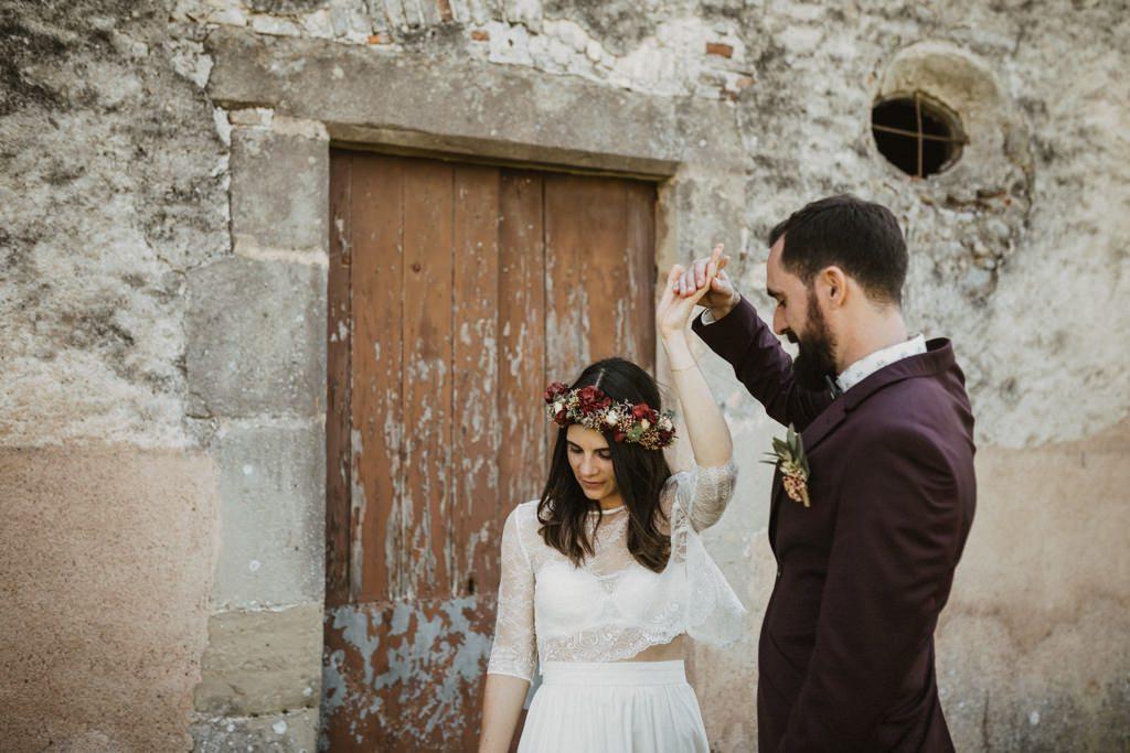 Àlbum casament mediterrani a Barcelona en plena natura a Casa Cerdà | Juanjo Vega, Fotògraf de casaments mediterranis a l'aire lliure a Barcelona.